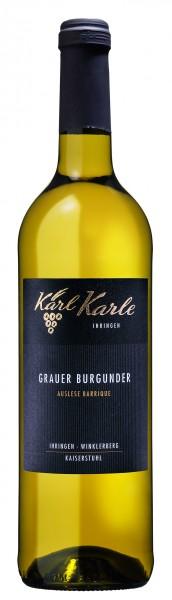 2016 Winklerberg Grauer Burgunder Auslese trocken -Barrique-