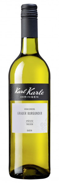 2019er Ihringer Winklerberg Grauburgunder Spätlese trocken, 0,75 l