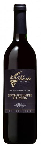 2016er Ihringer Winklerberg Spätburgunder Rotwein Auslese trocken, 0,75 l