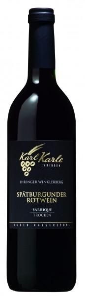 Ihringer Winklerberg Spätburgunder Rotwein