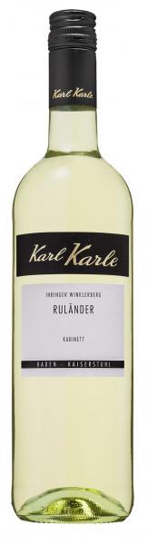 2019er Ihringer Winklerberg Ruländer Kabinett, 0,75 l