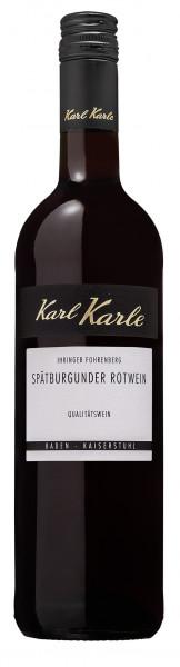 2017er Ihringer Fohrenberg Spätburgunder Rotwein Qualitätswein, 0,75 l