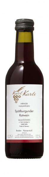 2016er Ihringer Vulkanfelsen Spätburgunder Rotwein Qualitätswein, 0,25 l