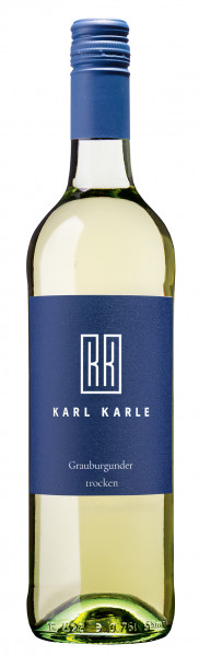 2019er Karl Karle Grauburgunder Qualitätswein trocken 0,75l