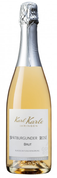 2018er Karl Karle's Rosé Sekt brut, 0,75 l