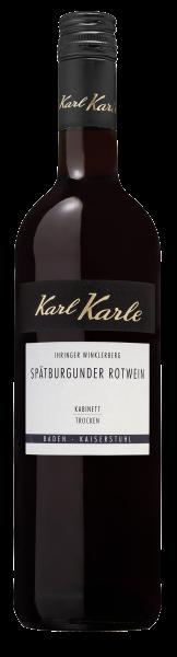 2019er Ihringer Winklerberg Spätburgunder Rotwein Kabinett trocken, 0,75l