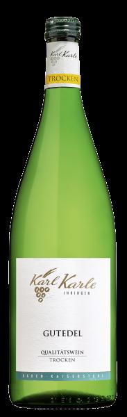 2019er Gutedel Qualitätswein trocken 1,0 l