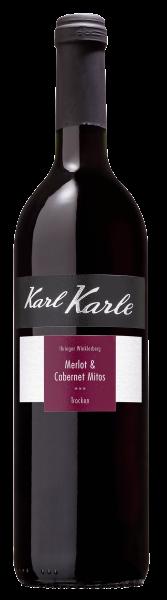 2018er Karl-Karles Rotwein-Cuvée, Cabernet mitos & Merlot 0,75 l