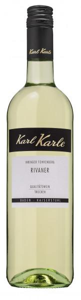 2018er Ihringer Fohrenberg Rivaner Qualitätswein trocken, 0,75 l